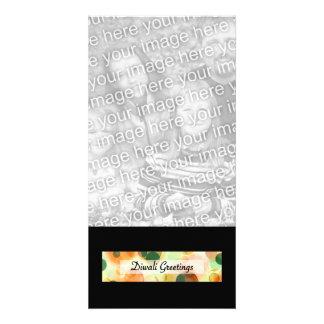 diwali greetings (dark bokeh) card