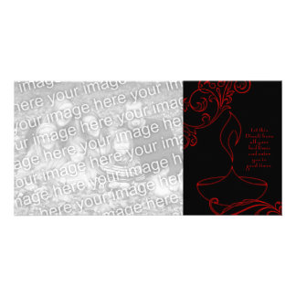 diwali greetings (elegant light) card