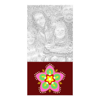 diwali greetings photo card