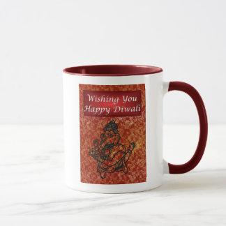 Diwali Indian Festival of Light with Ganesha Mug