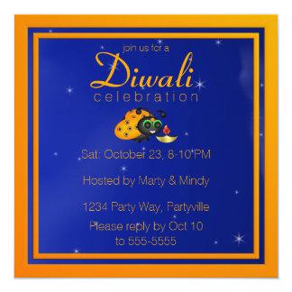 Diwali Ladybug Invitation