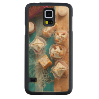 Diwali Sweets Carved® Maple Galaxy S5 Case