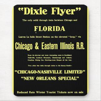 Dixie Flyer Premier Train Service Mouse Pad