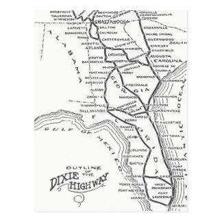 Dixie Highway D1 Postcard