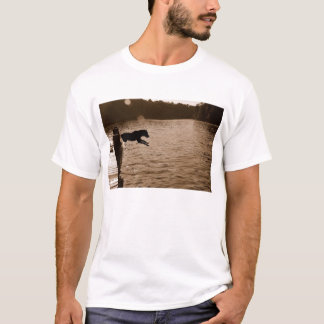 Dixie jumping off the dock T-Shirt