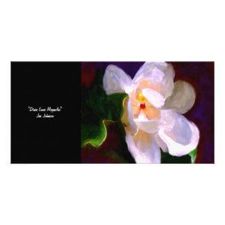 Dixie Lane Magnolia Collectible Art photo Card