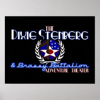 Dixie logo poster