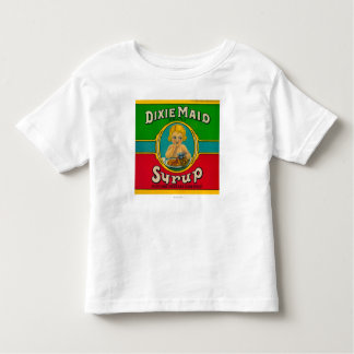 Dixie Maid Syrup LabelCairo, GA Toddler T-shirt