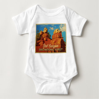 Dixie National Forest Baby Bodysuit