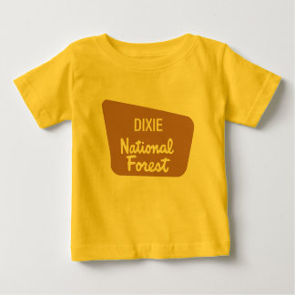 Dixie National Forest (Sign) Baby T-Shirt