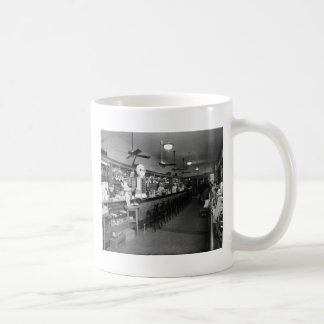 Dixie Soda Fountain, 1920s Coffee Mug