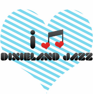 Dixieland Jazz fan Acrylic Cut Outs