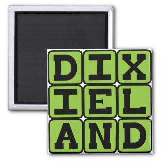 Dixieland, Music Genre Refrigerator Magnets