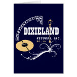 Dixieland Records Cards