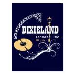 Dixieland Records Post Card