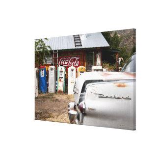 Dixon, New México, Estados Unidos. Coche del vinta Impresión En Lona