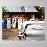 Dixon, New México, Estados Unidos. Coche del vinta Posters