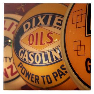 Dixon, New México, Estados Unidos. Vintage Azulejo Cuadrado Grande
