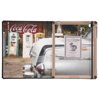 Dixon, New Mexico, United States. Vintage car iPad Cover