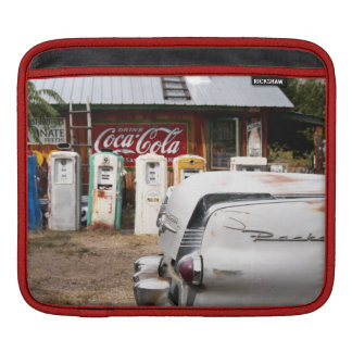 Dixon, New Mexico, United States. Vintage car iPad Sleeves