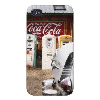 Dixon, New Mexico, United States. Vintage car iPhone 4 Cover