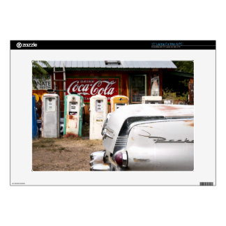 "Dixon, New Mexico, United States. Vintage car 15"" Laptop Skins"