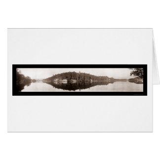 Dixon Point, WI Dells Photo 1911 Card