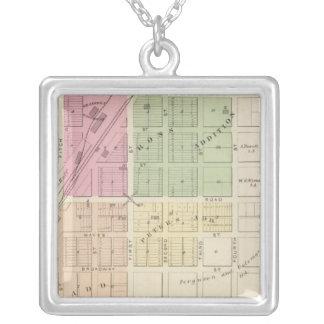 Dixon Square Pendant Necklace