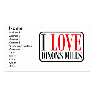 Dixons Mills, Alabama Double-Sided Standard Business Cards (Pack Of 100)