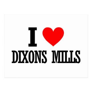 Dixons Mills, Alabama Postcard