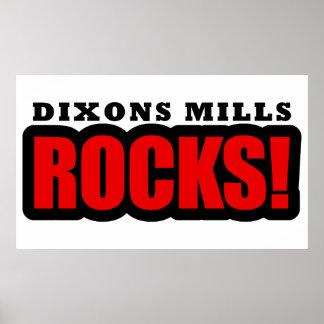 Dixons Mills Alabama Poster