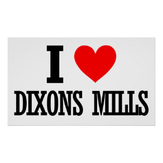 Dixons Mills Alabama Posters