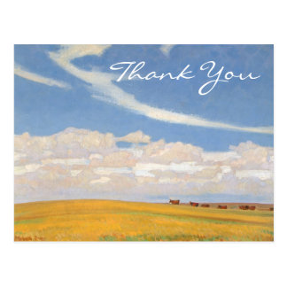 Dixon's Prairie After Storm Postcard