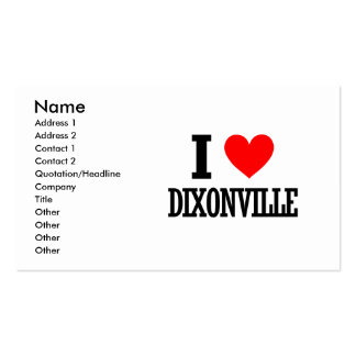 Dixonville, Alabama Double-Sided Standard Business Cards (Pack Of 100)