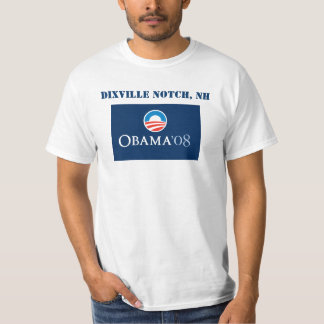 Dixville Notch, NH for Obama T-Shirt