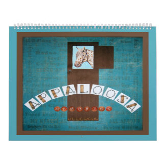 DIY 2011 APPALOOSA MEMORIES SCRAPBOOK CALENDAR