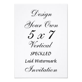 DIY 5 x 7 25% Cotton LAID WATERMARK Texture Paper Card