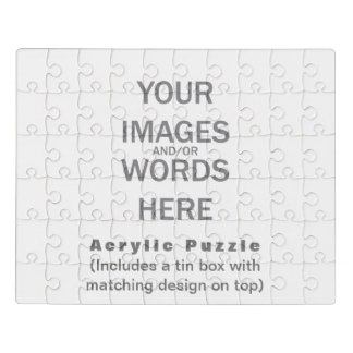 DIY - Acrylic Puzzle with Matching Tin