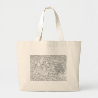 DIY Add Your Own Custom Photo Personalized Gift Jumbo Tote Bag