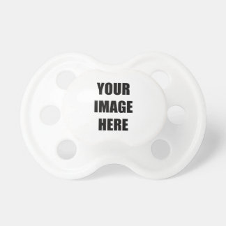 DIY, Add Your Own Image, Your Image here BooginHead Pacifier