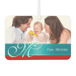 DIY - Add your own photo, name and monogram Air Freshener