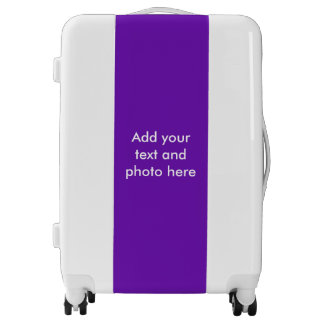 DIY - Add your own sign, photo, color & text Luggage