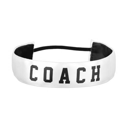 DIY _ Add your own text and background color Athletic Headband