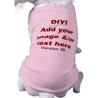 DIY Add Your Own Text and Image Custom V36 Tee