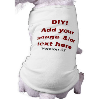 DIY Add Your Own Text and Image Custom V37 Tee