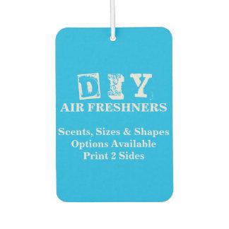 DIY - Air Freshner / Rectangle Car Air Freshener