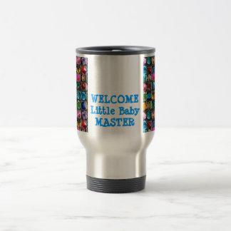 DIY All Purpose GEM: Edit/Replace Text Image 15 Oz Stainless Steel Travel Mug