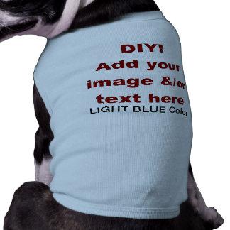 DIY añaden su propio personalizado V45B del texto Camisas De Perritos