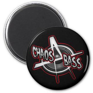 DIY Anarchy Chaos Metal Bass UK Punk shirt Refrigerator Magnet
