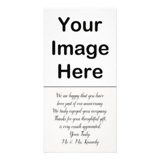 DIY - Anniversary Thank You Photo Insert Card
